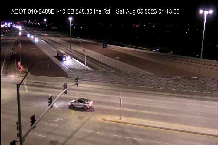 I-10 WB 248.70 @Ina Camera Image