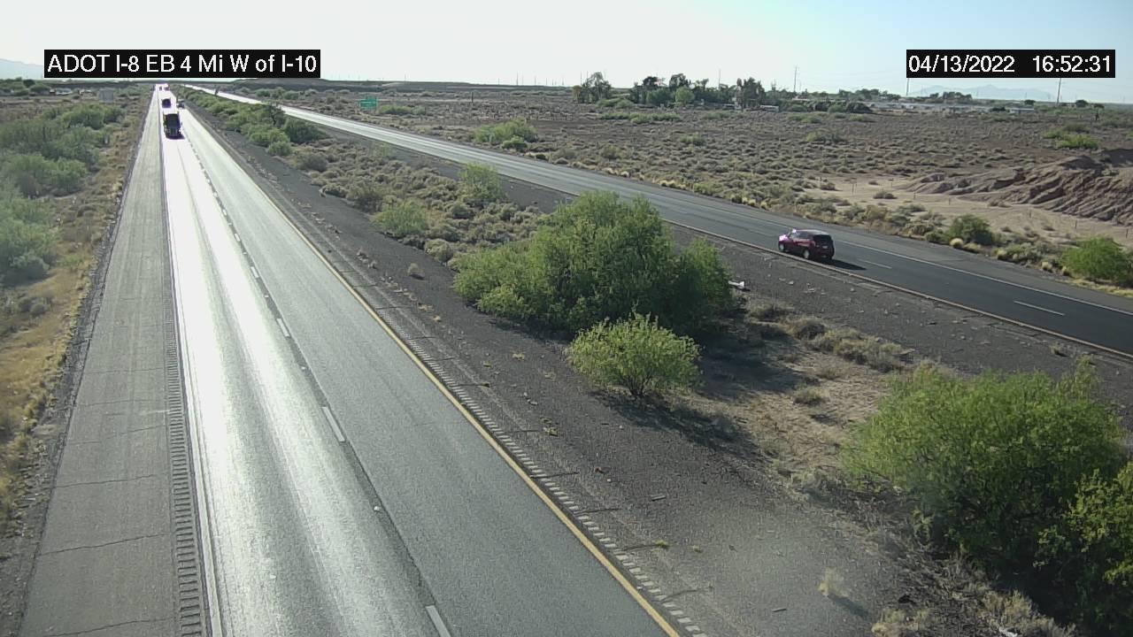 I-8 EB 174.10 @4 mi West of I-10 Camera Image